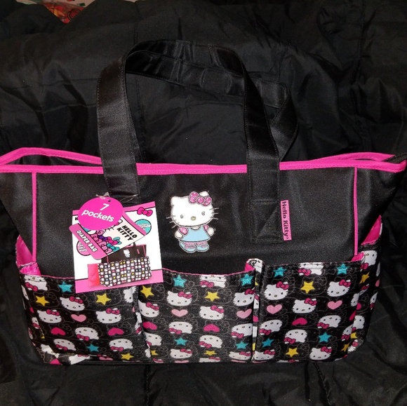 1dc89a18d2 Hello Kitty Handbags - NWT Hello Kitty Diaper Bag